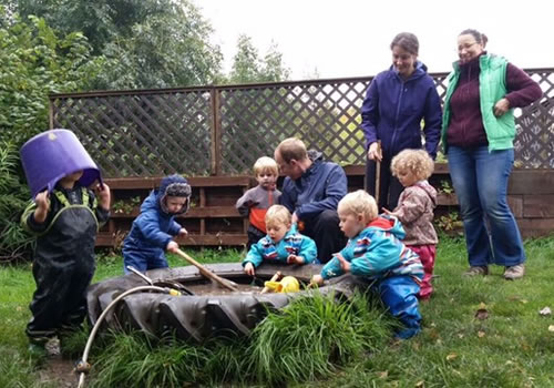 parent & toddler outdoor playgroup